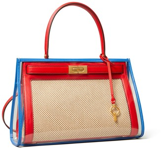 Tory Burch LEE RADZIWILL SMALL BAG WITH RAIN COVER