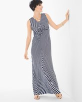 Chico's Geometric Stripe Maxi Dress