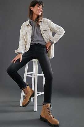 AG Jeans The Stevie High-Rise Skinny Jeans By in Black Size 32