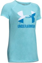 Under Armour Girls' Big Logo Tech Tee