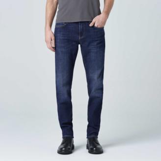 DSTLD Slim Jeans in Medium Blue