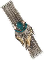 Iosselliani Multi Strand Fringe Bracelet