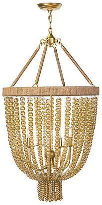 REGINA ANDREW Dior Small Chandelier - Gold Leaf