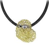 Orlando Orlandini Arianna - 18K Gold Heart Pendant w/Diamond