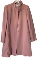 Goat Pink Wool Coat for Women