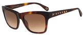 Diane von Furstenberg Leah Studded Sunglasses