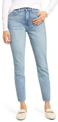 Jen7 High Waist Ankle Skinny Jeans