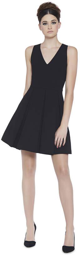 Alice + Olivia Julieta Inverted Pleat Dress