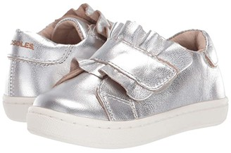 Old Soles Urban Frill (Toddler/Little Kid) (Silver) Girl's Shoes