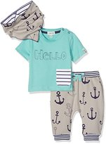 Lilly & Sid Baby Boy's Hello Anchors 3 Pc Clothing Set, NA,18-24 Months