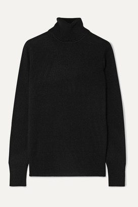 Equipment Delafine Cashmere Turtleneck Sweater - Black