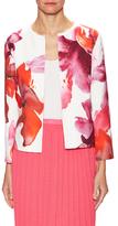 Carolina Herrera Floral Print Jacket