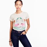 J.Crew Pink elephants T-shirt