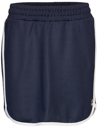 Fila Wies Cotton Mix Mini Skirt with Elasticated Waist