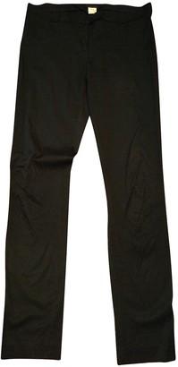 Romeo Gigli Black Silk Trousers for Women