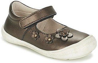 Citrouille et Compagnie MELINA BIS girls's Shoes (Pumps / Ballerinas) in Brown