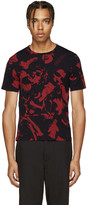 Maison Margiela Black & Red Music T-Shirt