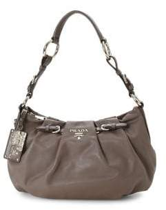 Prada Vintage Nappa Leather Shoulder Bag