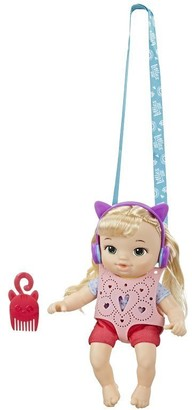 Baby Alive Carry 'n Go Littles Blond Hair Doll Chloe