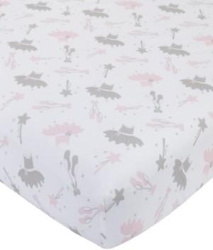 NoJo Ballerina Bows Crib Sheet Bedding