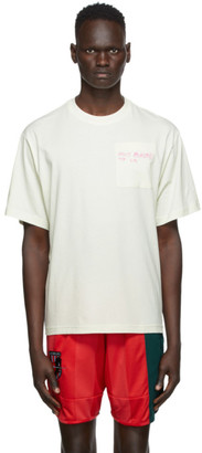 McQ Off-White Earth Pocket Relaxed T-Shirt