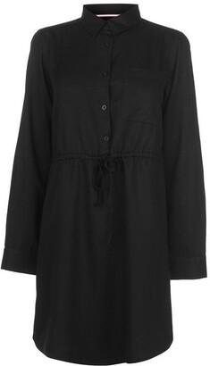Kangol Long Sleeve Shirt Dress Ladies