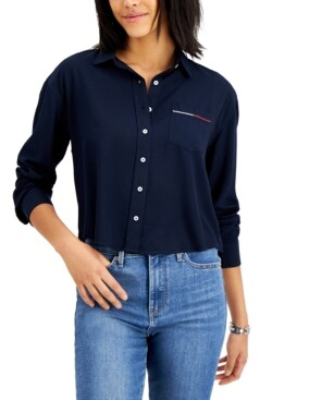 Tommy Jeans Collared Shirt