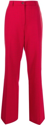 Paul Smith High-Rise Checked Trousers