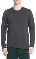 Marni Men's Asymmetrical Bonded Wool Pullover