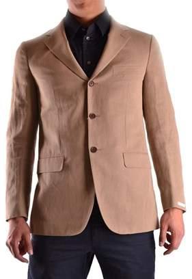 Ballantyne Men's Beige Cotton Blazer