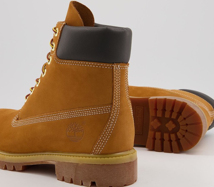 Thumbnail for your product : Timberland 6 Inch Buck Boots M Wheat Nubuck