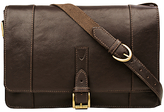 Hidesign Maverick 03 Leather Messenger Bag, Brown