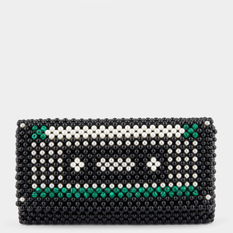 Anya Hindmarch Cassette Pearls Clutch
