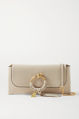 See by Chloe Joan Textured-leather Shoulder Bag