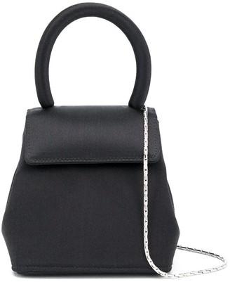 Rubeus Liza mini top-handle satin bag