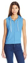 Southpole Junior's French Terry Zip Up Vest Hoodie