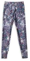 Terez Girl's Night Sparkle Printed Leggings