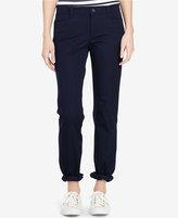 Lauren Ralph Lauren Stretch-Twill Straight-Leg Pants