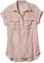 L.L. Bean Signature Short-Sleeve Utility Shirt, Print