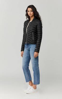 Soia & Kyo BRUNA slim-fit lightweight down jacket