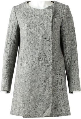 Chloé Grey Wool Coat for Women
