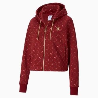 Puma x CHARLOTTE OLYMPIA Women's Cropped Full Zip Hoodie