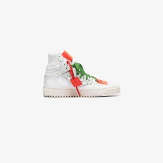 Off-White white Off Court 3.0 leather sneakers