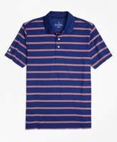 Brooks Brothers Performance Series Bird's-Eye Stripe Polo Shirt