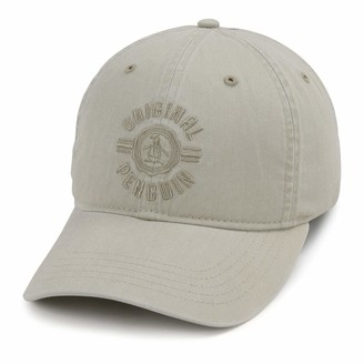 Original Penguin Denim Crest Logo Baseball Cap