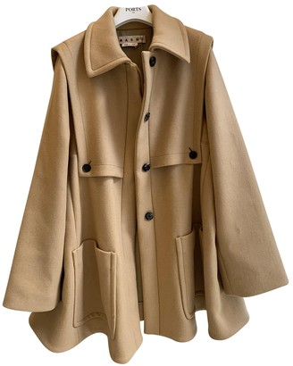 Marni Camel Wool Coat for Women