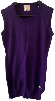 Vivienne Westwood Purple Wool Dresses