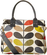 Orla Kiely Multi Stem Zip Messenger Bag