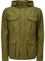 Scotch & Soda 6 Pocket Military Jacket, Military Green