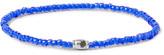 Luis Morais Glass Bead White Gold Bracelet